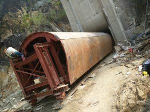 Hình ảnh công trường- Cốp pha hầm